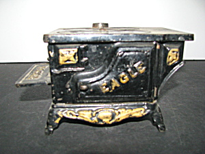 Antique Eagle Cast Iron Toy Stove