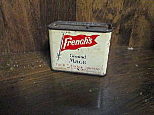 Vintage French's Ground Mace Tin