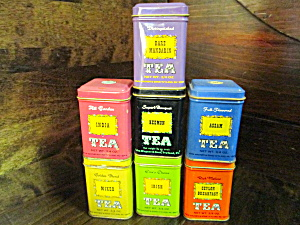 John Wagner&Sons Tea & Spice Merchants Singles Tins (Image1)