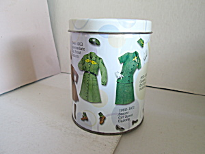 Girl Scout Uniform Design Cookie Tin