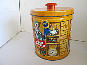 Quakerlimited Edition Aunt Jemima Pancake Tin Canister