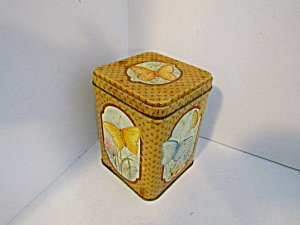 Vintage Princeton Butterfly Collectable Tin