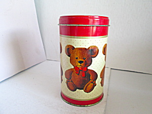 Vintage Sweetie Bear Bakery Tin
