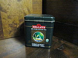 Hedley's Organic Green Tea Tin