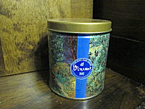 Vintage Vincent Van Gogh Designed Tea Tin