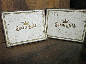 Vintage Chesterfield Cigarette Tin
