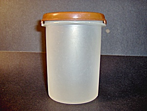 Vintage Tupperware Round Container With Lid