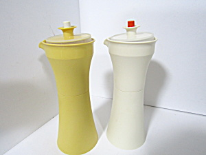 Vintage Tupperware Oil & Vinegar Containers
