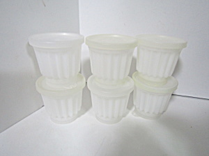 Vintage Tupperware Jel-ette Jello Mold Set