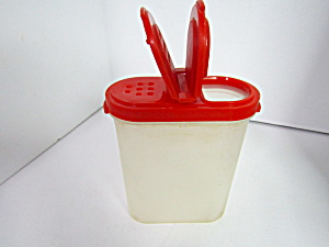 Tupperware  Oval Modular Mate Red Spice Container (Image1)