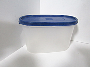 Vintage Tupperware One Blue Modular Mate Space Saver