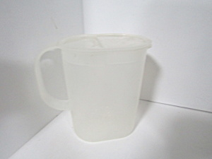 Vintage Tupperware Oval Sheer 1 Qt Pitcher