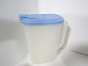 Vintage Tupperware Slim Line 2 Quart Oval Pitcher