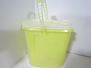 Tupperware Beverage Buddy Yellow/clear Juice Pitcher