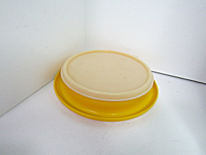 Vintage Tupperware Yellow Little Diner Toddler Bowl