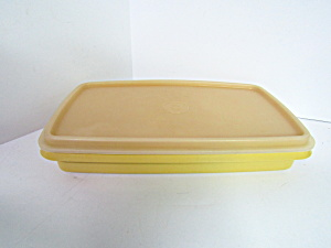 Vintage Tupperware Harves Gold Lunch Meat/cheese Keeper
