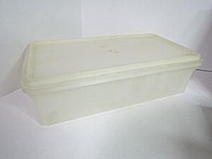 Vintage Tupperware Cracker Rectangle Storage Container