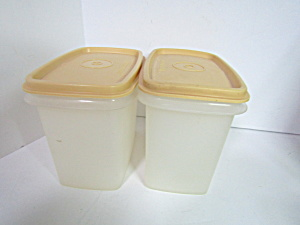 Vintage Tupperware Rectangle Storage Containers