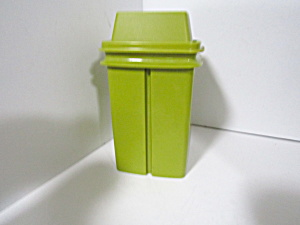 Tupperware  Pick-A-Deli Pickle Keeper Olive Green (Image1)