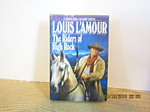 Vintage Book The Riders Of High Rock By Louis L'amour