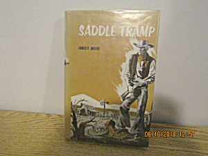 Vintage Western Book The Saddle Tramp