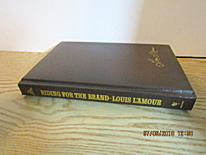 Western Book Riding For The Brand By Louis L'amour