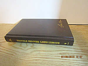Vintage Western Book Trouble Shooter By Louis L'amour
