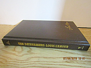 Vintage Western Book The Daybreakers By Louis L'amour