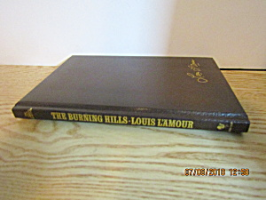 Vintage Western Book The Burning Hills By Louis L'amour