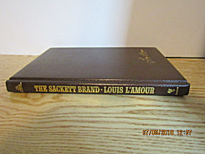 Vintage Western Book The Sackett Brand By Louis L'amour