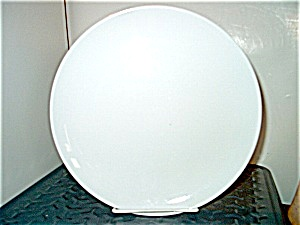 Vintage Corelle Winter Frost White Dinner Plate