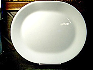 Vintage Corelle Winter Frost White Serving Platter
