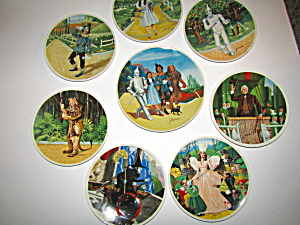 First Edition Wizard Of Oz Limited Edition Plate Set