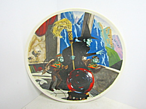 First Edition Wizard PlateThe Wicked Witch Of The West  (Image1)