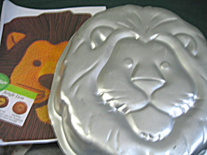Vintage Wilton Jungle Lion Cake Pan