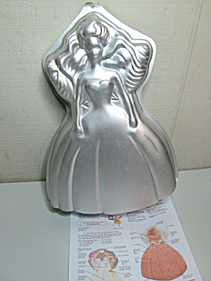 Vintage Wilton Birthday Barbie Cake Pan