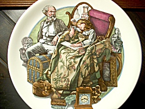 World Of Charles Dickens- Little Nell Collector Plate