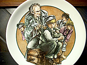 World Of Dickens Oliver Twist And Fagin Plate