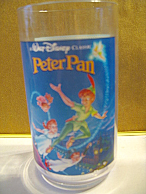 Peter Pan Collector Glass