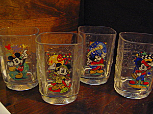 Mcdonald's Disney World Disney Studio Drinking Glasses