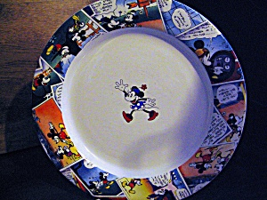 Comic Strip Framed Disney China Plate Minnie Mouse