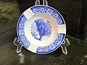 Vintage Blue Wedgwood Washington Elm Ashtray