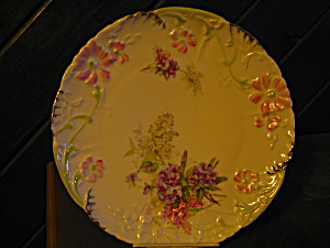 Welmar Megenta Rose Dinner Plate