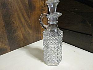 Vintage Anchor Hocking Wexford Oil/Vinegar Cruet (Image1)
