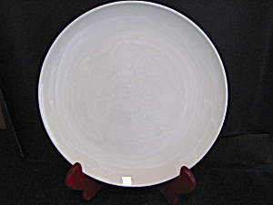 Corning Centura White Coupe Luncheon Plate