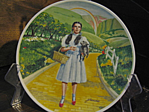 First Edition Wizard Of Oz Over The Rainbow Plate