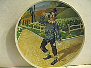 First Edition Wizard Of Oz Plate If I Only Had A Brain