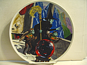 Limited Edition The Wicked Witch Of The West Plate