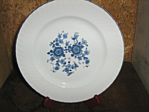 Wedgewood Royal Blue Bread/saled Plate