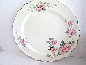 Vintage Ws George Blossoms Luncheon Plate